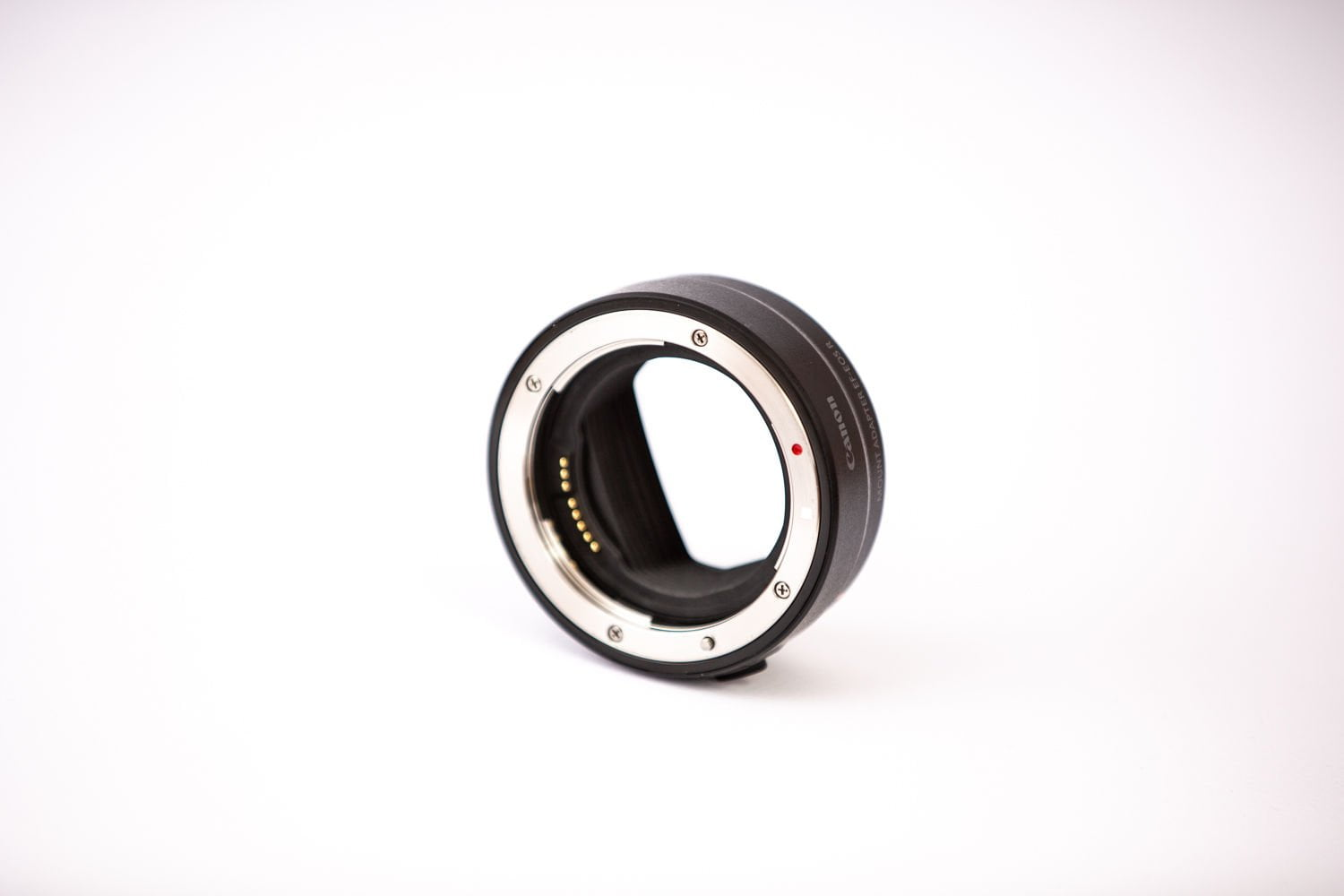 EF / EF-S lens adapter - front view