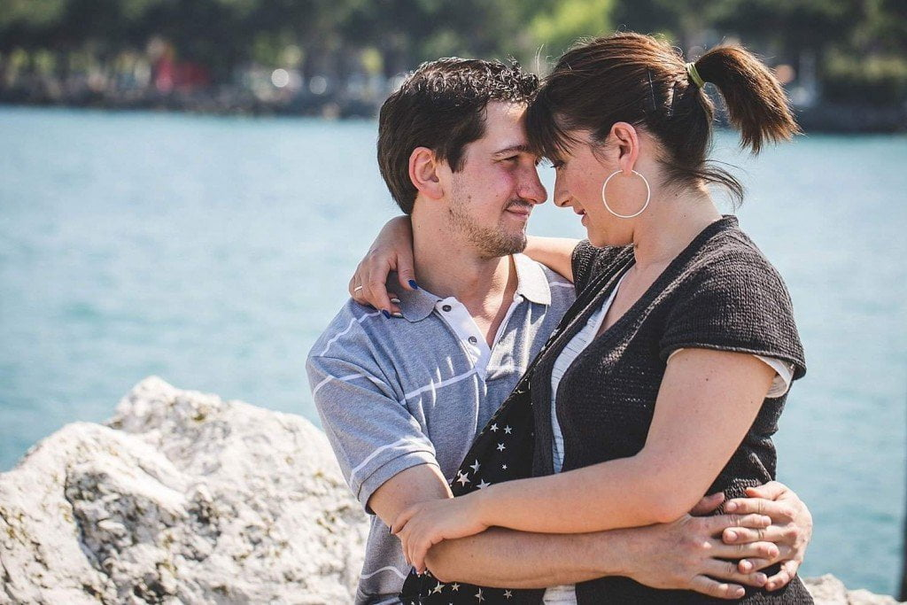 engagement lake of garda