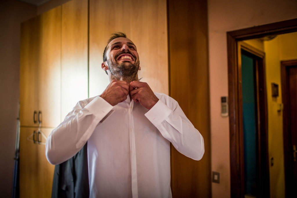 matrimonio a corte francesco preparativi sposo