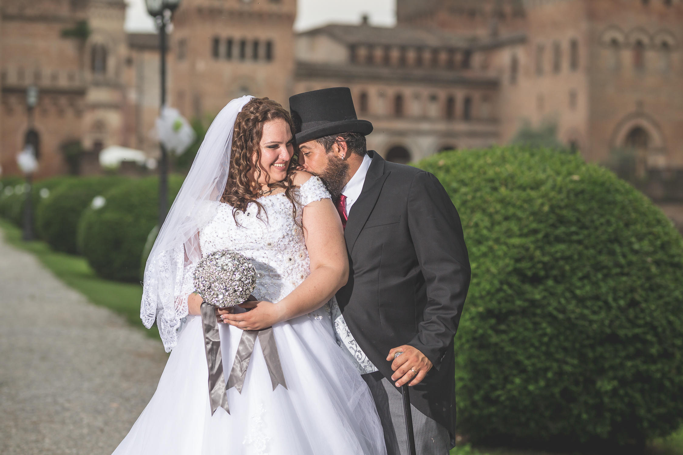 artist wedding castle cremona